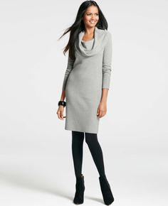 Lush Long Sleeve Cowl Neck Sweater Dress available at #Nordstrom ...