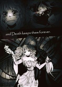 Life and Death have been in love for longer than we have words to describe. Life sends countless gifts to Death And Death keeps them forever. Black Butler Sebastian, Black Butler Ciel, Black Butler Kuroshitsuji, Ciel Phantomhive, Elizabeth Midford, Black Butler Funny, Black Butler Characters, Fanart, Butler Anime