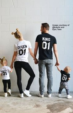 King Queen Prince Princess 01 Father Mother by EpicTees4You