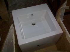 Simas Frozen Bathroom Sink