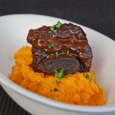 Dorie Greenspan Red wine and port braised beef short ribs
