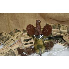"""Piruletas y chocolate. La excelsa simbiosis de dos alimentos tan queridos por todos. Para un momento en el que el """"azúcar"""" es requerido... De Chocolates Artesanos Peñaquel"""
