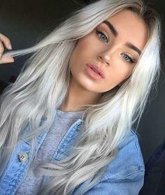 Gorgeous light blonde: think Gwen Stefani and her statement platinum hair