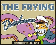 The Simpsons The Frying Dutchman - Find out what else is coming to Universal Studios Fast Food Boulevard Springfield development...