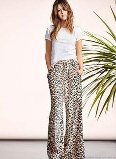 Moda verano 2019 tendencias argentina vestidos 31 ideas for 2019 Leopard Print Outfits, Animal Print Outfits, Leopard Pants, Fashion Mode, Look Fashion, Fashion Outfits, Make Up Studio, Mode Simple, Casual Chic