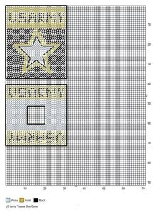 US ARMY TBC Plastic Canvas Books, Plastic Canvas Coasters, Plastic Canvas Tissue Boxes, Plastic Canvas Crafts, Plastic Canvas Patterns, Needlepoint Patterns, Cross Stitch Patterns, Crochet Patterns, Military Crafts