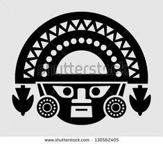 Inca Symbols Tattoo Inca icon - stock vector