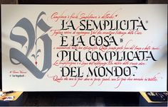 Luca Barcellona - Commission for Bunker studio (Modena), quotes from Bruno Munariand Vico Magistretti, brush ink and gouache,on wood panel, 2014
