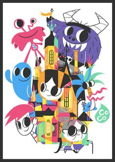 cartoontribute:  #2 Foster's Home for Imaginary Friends - by Bruno Okada