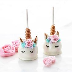 Unicorn Cakepops