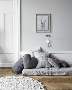 Gorgeous Gray Rooms (that will calm any kid at bedtime) - Petit & Small
