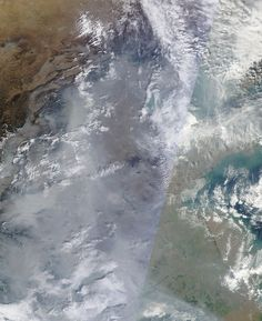 Here's what China's epic smog looks like from space