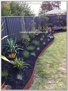 Browse photos from FormBoss Metal Garden Edging Australian Garden Design, Australian Native Garden, Backyard Garden Design, Garden Landscape Design, Steel Landscape Edging, Backyard Ideas, Small Gardens, Outdoor Gardens, Coastal Gardens