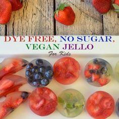Dye Free No Sugar Jello for Kids