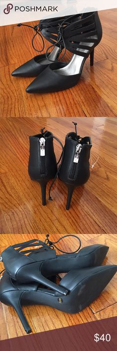 Brand new heels Brand new heels leather 3 in heel BCBGeneration Shoes Heels