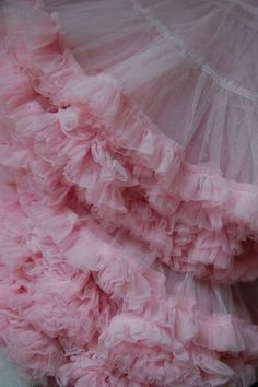 pink ruffles of tulle Pretty In Pink, Pink Love, Tout Rose, Rose Bonbon, Rosa Pink, I Believe In Pink, Frou Frou, Everything Pink, Girly Girl