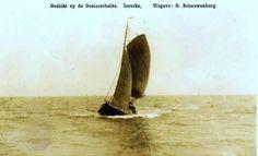 Vissersboot uit Yerseke op de Oosterschelde