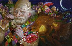 Victor Nizovtsev /Виктор Низовцев, 1965   Fantasy painter   Tutt'Art@   Pittura * Scultura * Poesia * Musica  