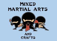 ninja knitting
