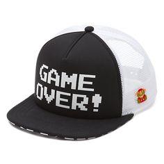 cc4e9c3d813 Nintendo GAME OVER Trucker Hat
