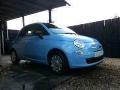 FIAT 500 - Washed with snow foam, full interior detailing, polished and waxed.