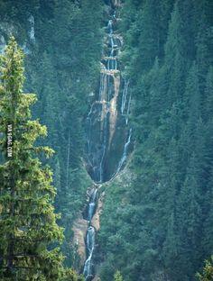 Horses' Waterfall - Maramures, Romania