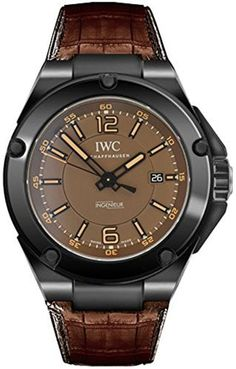 IWC Ingenieur Automatic AMG Black Ceramic Mens Watch IW3225-04 by IWC -- Awesome products selected by Anna Churchill