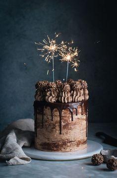 Nutella Stuffed Chocolate Hazelnut Dream Cake - The Kitchen McCabe