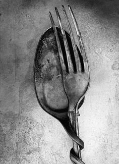 Bob Carlos Clarke  for the kitchen, I think the spoon is cheating on the dish with the fork...