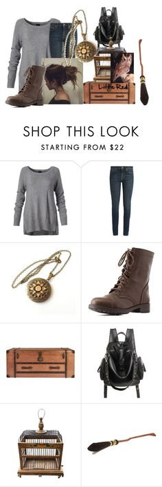"""""""Hogwarts express - Victoria"""" by twilightphonix on Polyvore featuring Yves Saint Laurent and Charlotte Russe"""