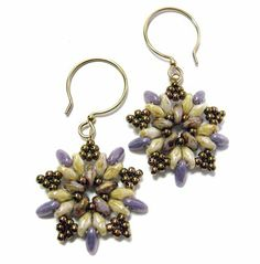 Beautiful Bead Earrings Tutorials - The Beading Gem's Journal