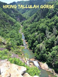 Hiking Tallulah Gorge - Mohans Rule!
