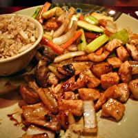 Hibachi Chicken............yes i am addicted to Asian food. I am a fried rice junkie +)