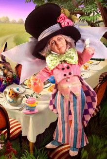 *THE MAD HATTER DOLL ~ Pop Culture Dolls - View Collectible Barbie Dolls From Pop Culture Collections | Barbie Collector