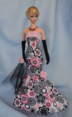 Barbie La Flora Gown by ShhDollWorks