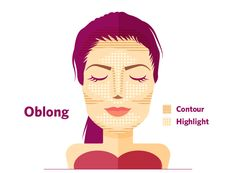 #Makeup Contouring for Oblong Face Shapes