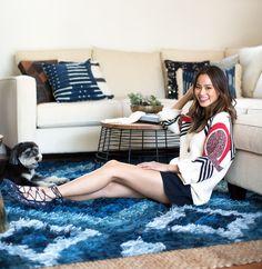 Jamie Chung's Living Room Makeover | Decorist