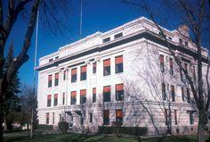 Hamlin County Courthouse in South Dakota.