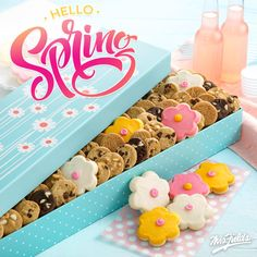 #Spring is in the share! Fun frosted flowers, delicious #brownie bites, mouth-watering #chocolatechipcookies; whatever your sweet tooth go-to is, we have got you covered!