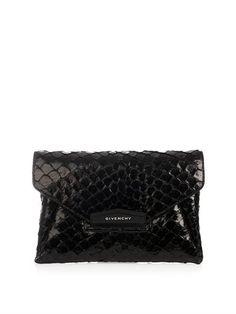 Givenchy Antigona pirarucu envelope clutch
