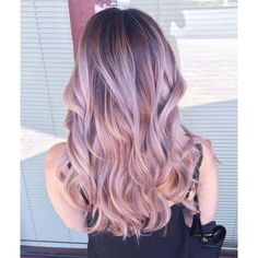 (41) Top 20 Best Balayage Hairstyles for Natural Brown & Black Hair... ❤ liked on Polyvore featuring accessories, hair accessories, pink hair accessories and black hair accessories