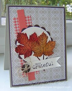 Stampin' Addicts Fall Holiday Blog Hop by RunningwScissorsStamper, #SUO / stampin up / truly grateful