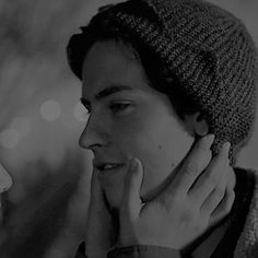 black and white, bughead, and gif image