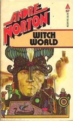 Witch World : Andre Norton Star Trek Books, Andre Norton, Books To Read, My Books, Danse Macabre, Pocket Books, Bound Book, Sci Fi Books, Pulp Art
