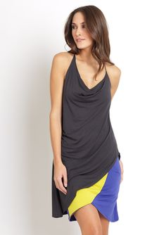 comfy, and it's a racer-back.