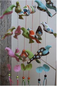 guirlandes oiseaux