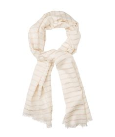 ROSE GOLD STRIPE SCARF