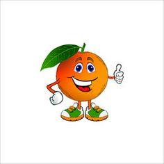 Resultado de imagen de naranja animado