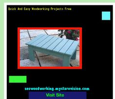 Quick And Easy Woodworking Projects Free 193909 - Woodworking Plans and Projects!