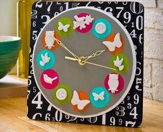 DIY Mod Melt Nature Clock DIY Mod Melt DIY Crafts